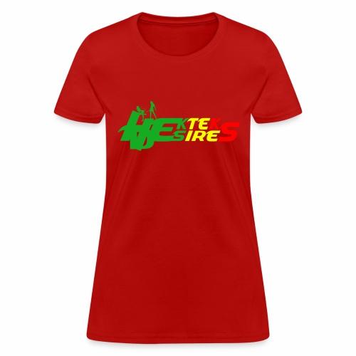 Logo Rasta - Women's T-Shirt