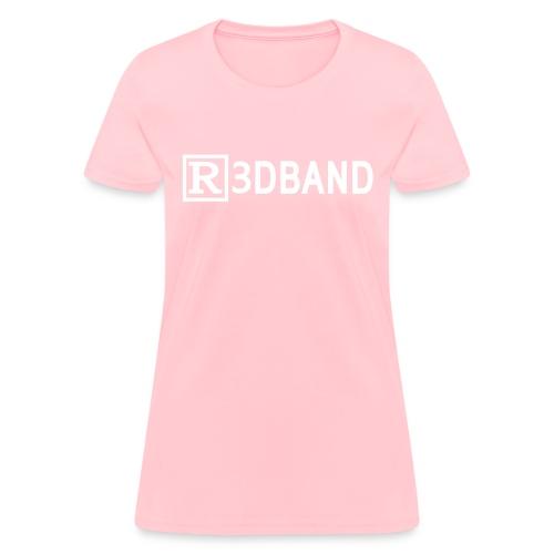 r3dbandtextrd - Women's T-Shirt