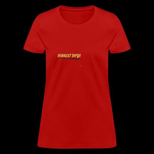 Schmeat Boys Logo - Women's T-Shirt