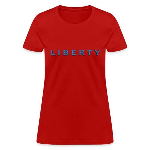 Liberty Libertarian Design - Women's T-Shirt