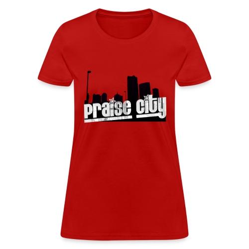 Praise City Skyline1 RB - Women's T-Shirt