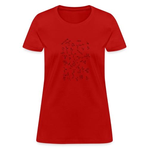 Organic Chemistry Design 4 - Women's T-Shirt