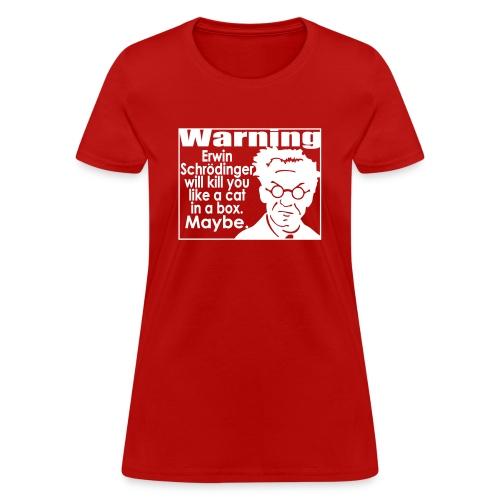 schrodinger02 - Women's T-Shirt