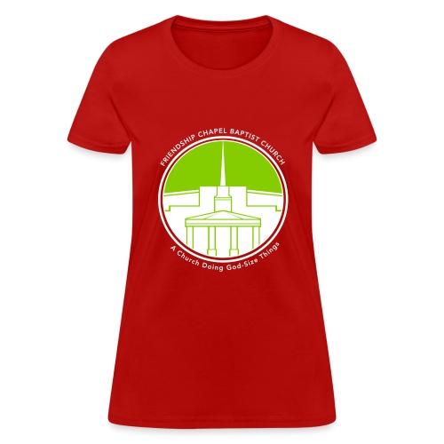 Building art v3color T - Women's T-Shirt