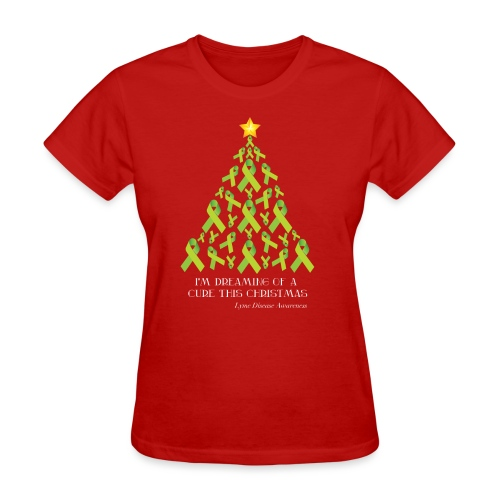 Lyme Free Christmas - Women's T-Shirt