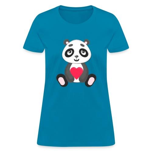 Sweetheart Panda - Women's T-Shirt