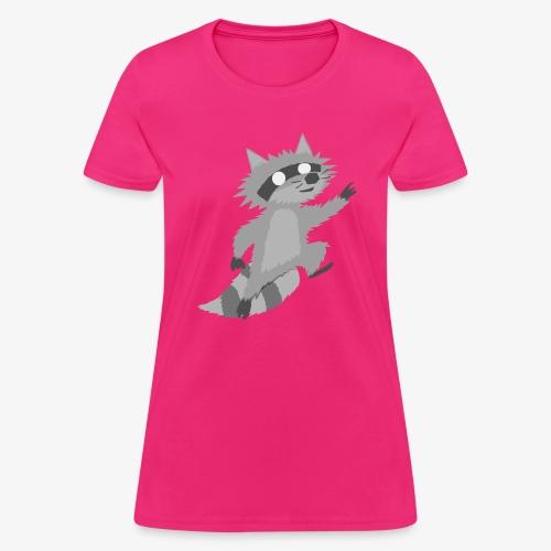 Raccoon - Women's T-Shirt