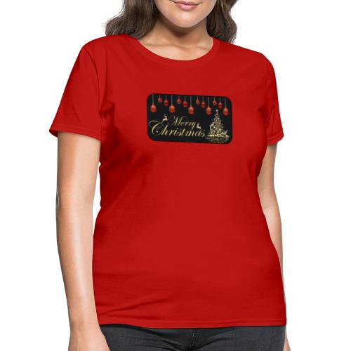 Merry Christmas - Women's T-Shirt