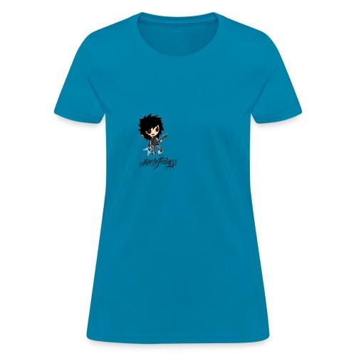 axelofabyss self portrait - Women's T-Shirt