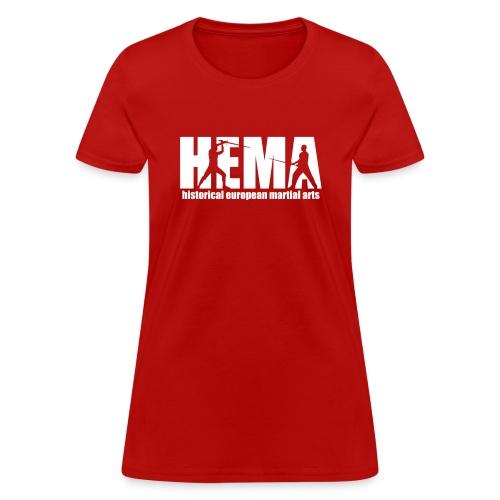HEMA historical european martial arts - Women's T-Shirt
