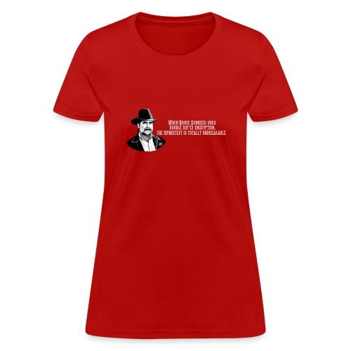 Bruce Schneier Fact #15 - Women's T-Shirt
