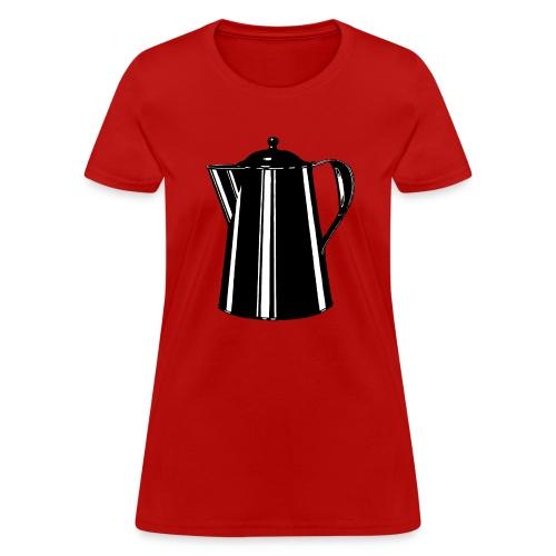 Coffee Pot - Women's T-Shirt