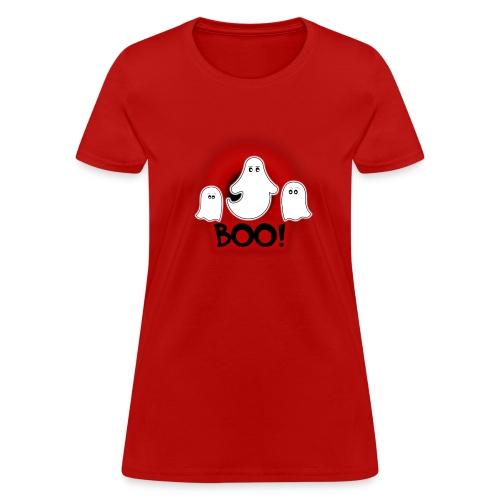 Ghosties Boo Happy Halloween 6 - Women's T-Shirt