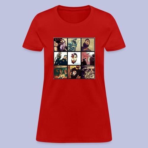 Throwback ART Mixtape Cover - Women's T-Shirt