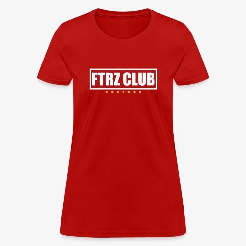 Ftrz Club Box Logo - Women's T-Shirt