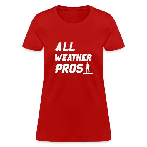 Messenger 841 All Weather Pros Logo T-shirt - Women's T-Shirt
