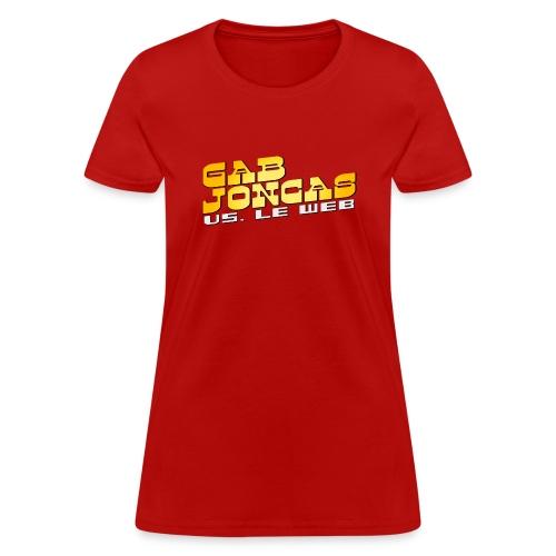 gab joncas vs web logotshirt png - Women's T-Shirt