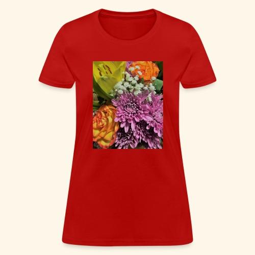 florals - Women's T-Shirt