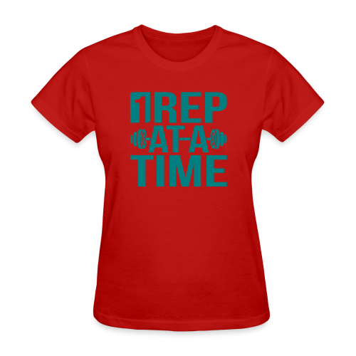 1Rep at a Time - Women's T-Shirt