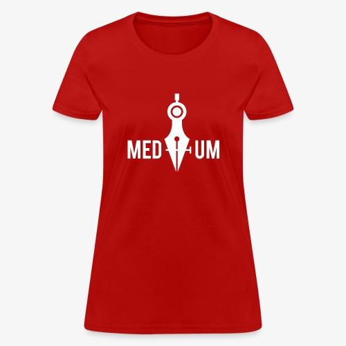 Medium (Pen Tool and Compass) - Women's T-Shirt