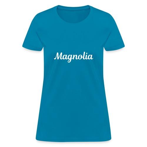 Magnolia Abstract Design. - Women's T-Shirt
