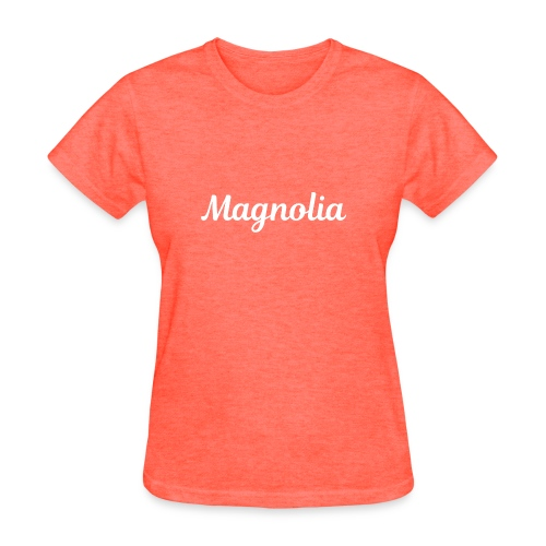 Magnolia Abstract Design. - Women's T-Shirt