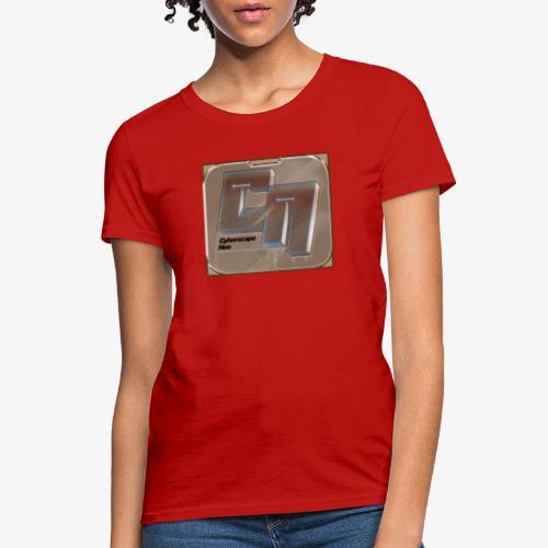 Cyberscape Neo X Titanium Templar Logo - Women's T-Shirt