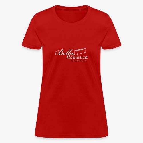 """BELLA ROMANZA"" Concert Tour Claudia Santiago - Women's T-Shirt"