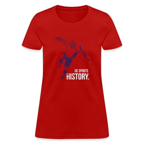DC Sports History - Women's T-Shirt