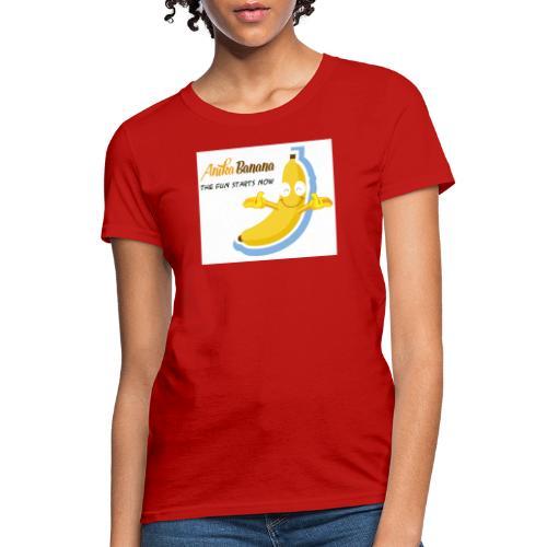 Anika Banana - Women's T-Shirt