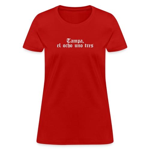 el ocho uno tres white - Women's T-Shirt