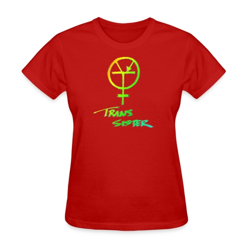 Trans Sister (light) - Women's T-Shirt