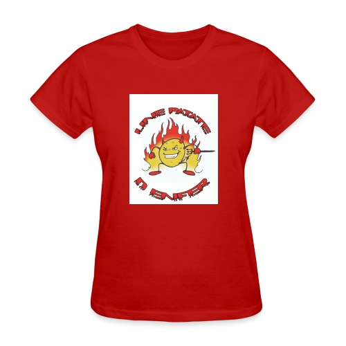 Une patate d' Enfer - Women's T-Shirt