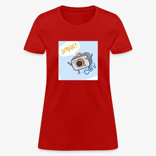 the smile - Women's T-Shirt