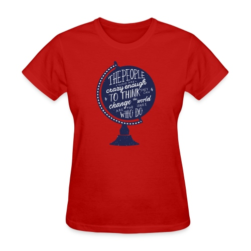 change the world - Women's T-Shirt