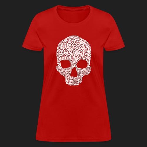 Scarlet Bones Hex Design - Women's T-Shirt