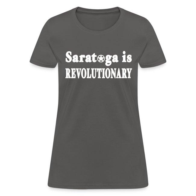 New York Old School Saratoga is Revolutionary Shir