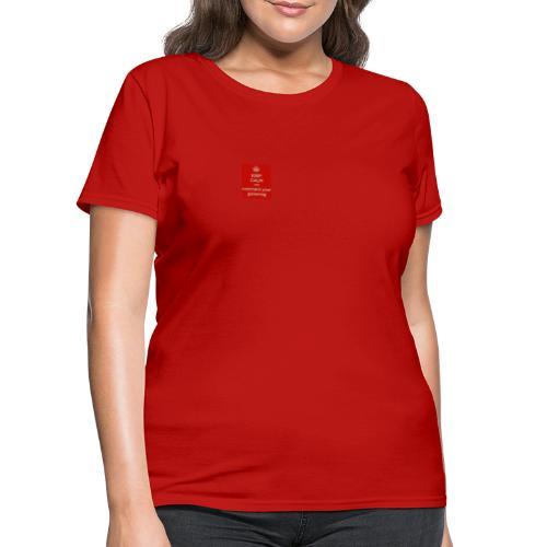 GT-keep calm - Women's T-Shirt
