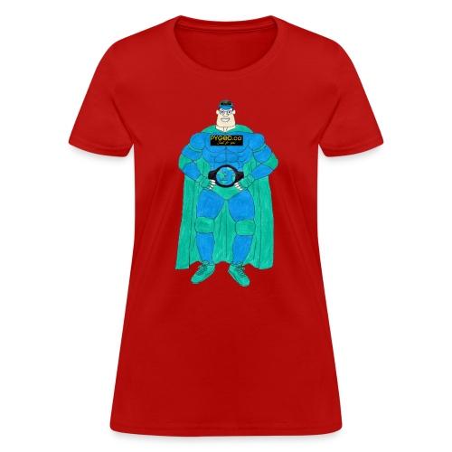 PYGOD Man - PYGOD.co Mascot - Women's T-Shirt