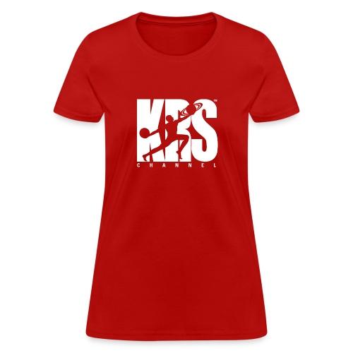 new krschannel logo white - Women's T-Shirt