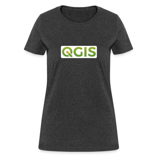 qgis_600dpi_white_bg - Women's T-Shirt