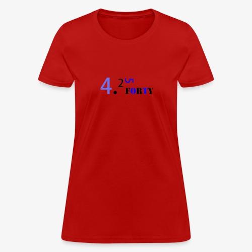 Logo 2 - Women's T-Shirt