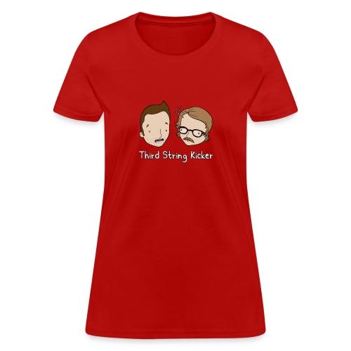 Third String Kicker Logo - Women's T-Shirt
