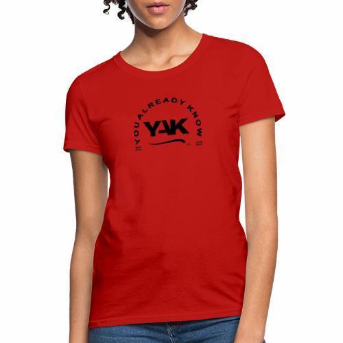 YAK Logos 10 - Women's T-Shirt