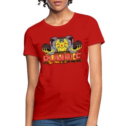 Transformers Cyberverse Grimlock Ready to Rumble - Women's T-Shirt