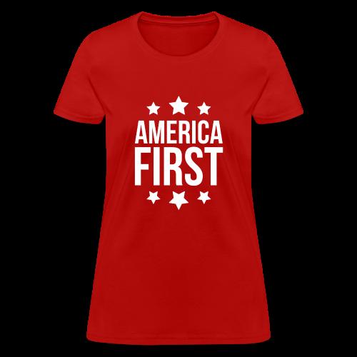 America First - Women's T-Shirt