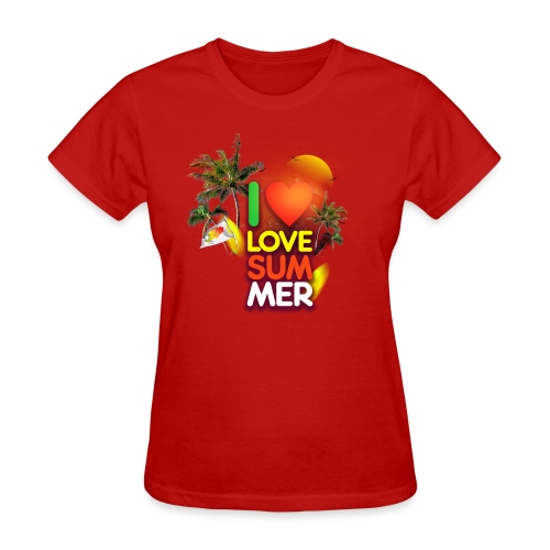I love summer - Women's T-Shirt