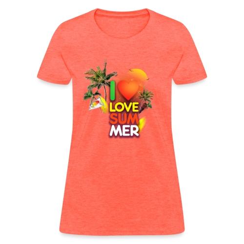 I love summer - Women's T-Shirt