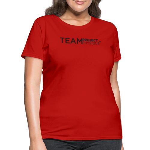 Projet d'équipePhysique - T-shirt pour femmes
