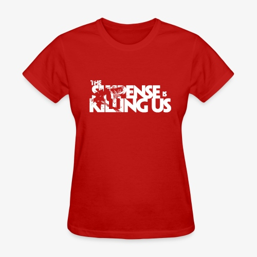 Suspense Is Killing Us White Logo - Women's T-Shirt